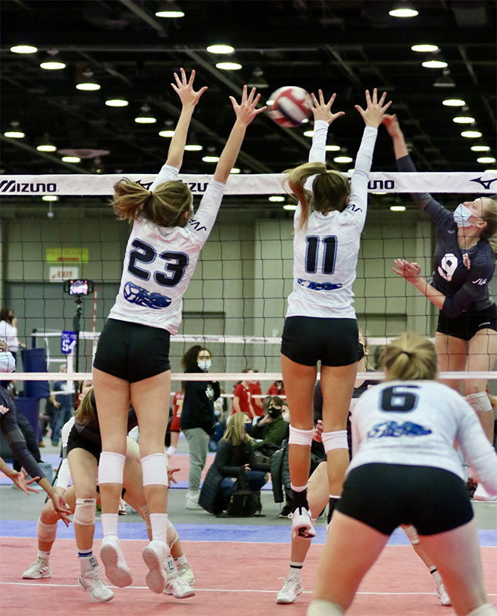 TCF Center Reopens for Events With Volleyball Tournament
